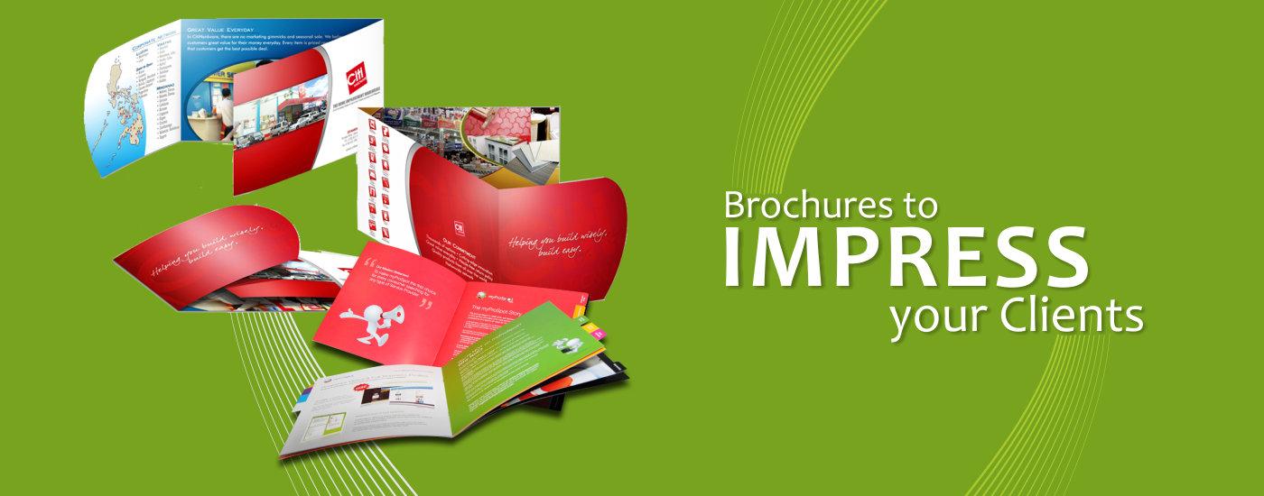 custom brochure design & printing | online brochure printing ...