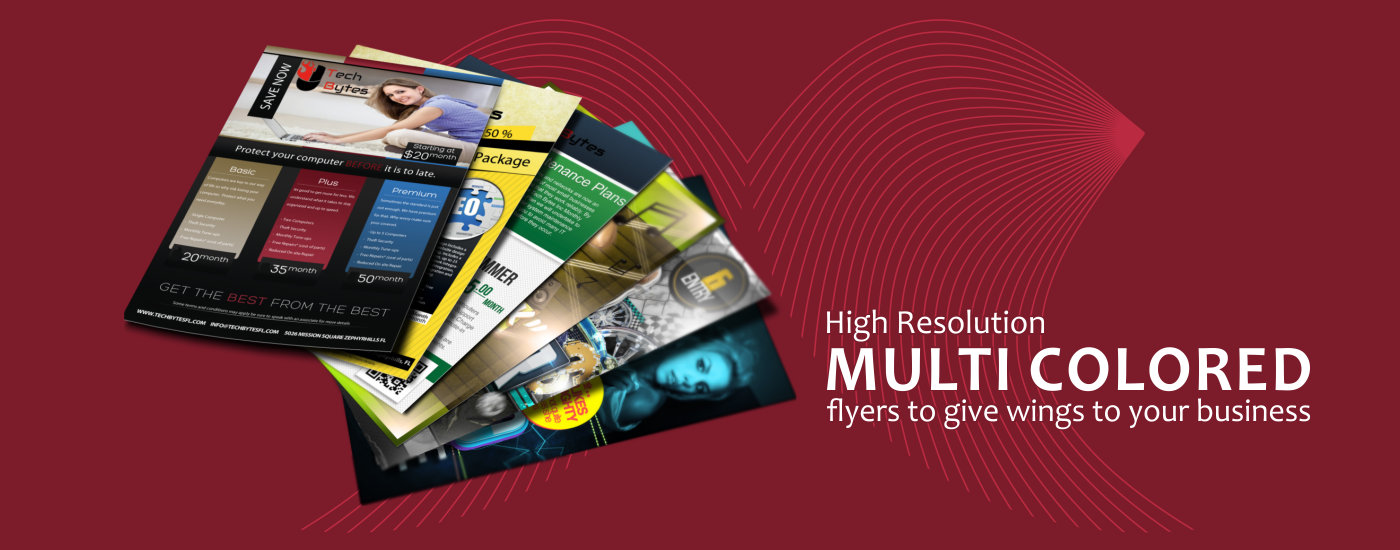 Online Flyer & Leaflet Printing Services India