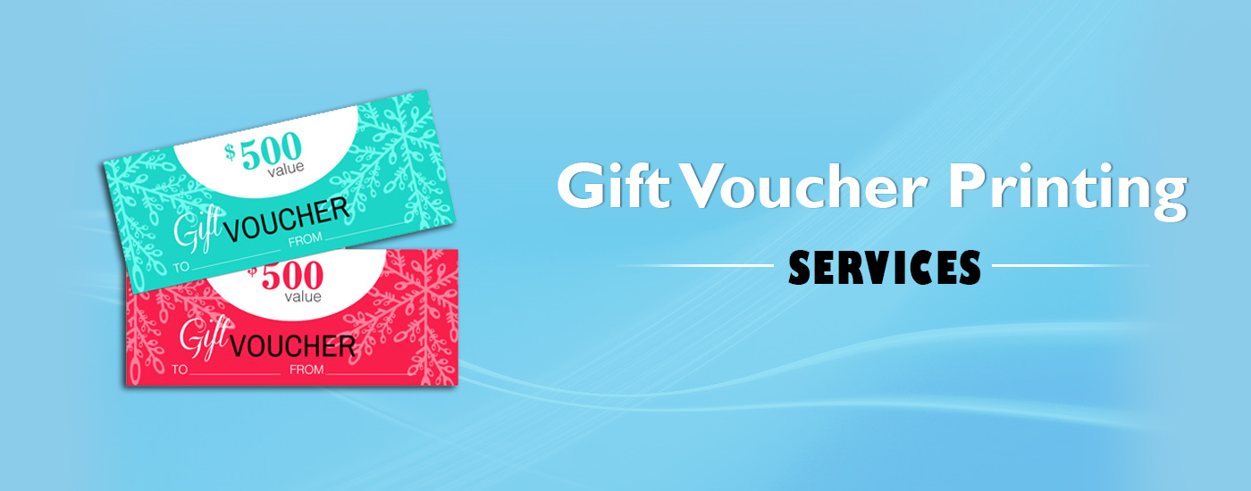 Giftvoucher Printing Services