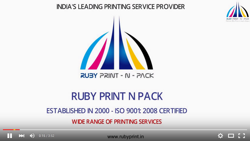 Ruby Print Video Package